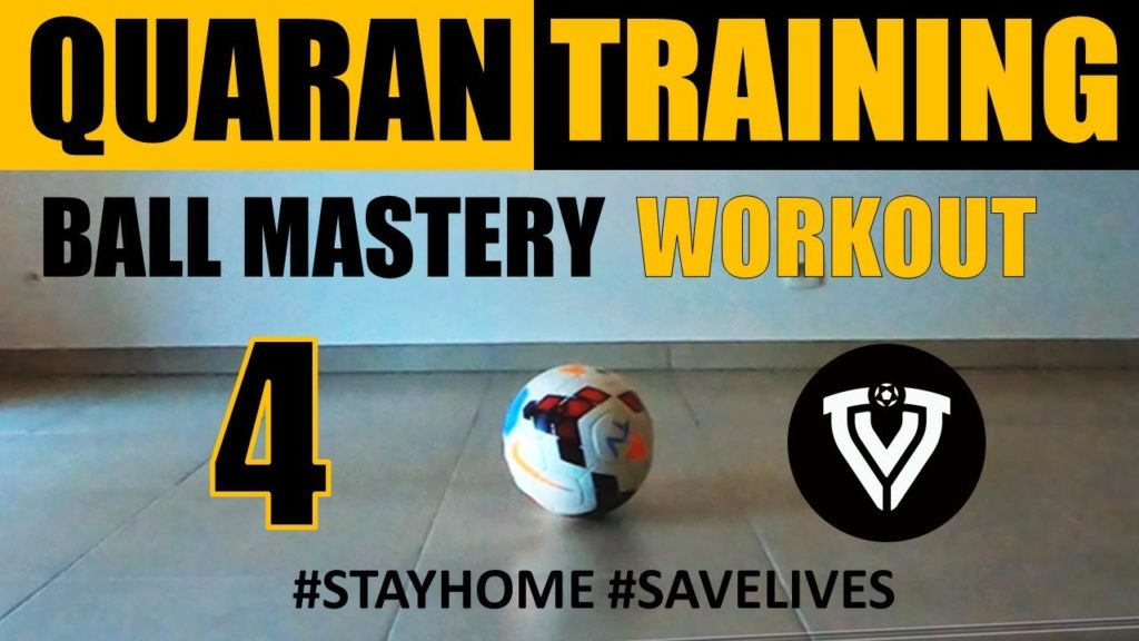 Ball Mastery Workout 4 | Football Training | Thomas Vlaminck
