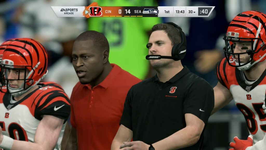 Madden NFL 20   Cincinnati Bengals Vs Seattle Seahawks