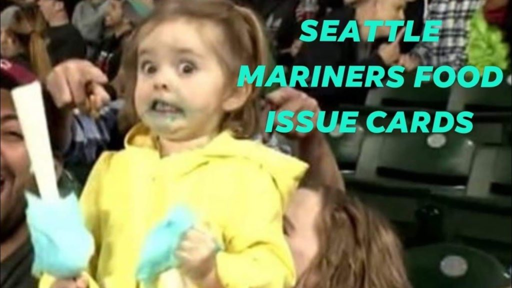 Seattle Mariners Food Issue Cards…and a free Sundae!?!