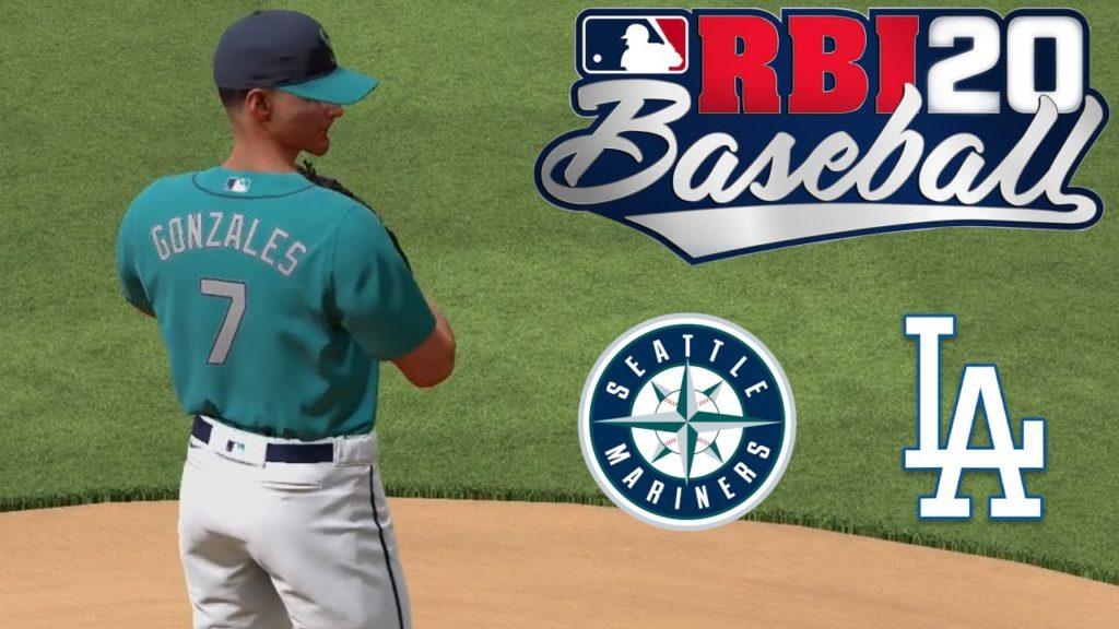 R.B.I. Baseball 20 – Nintendo Switch Gameplay – Mariners vs Dodgers