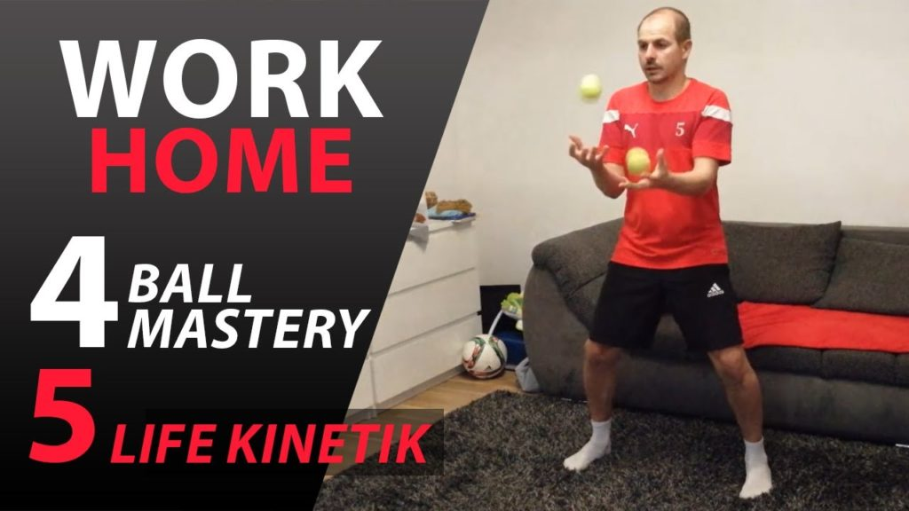 FOOTBALL TRAINING AT HOME FOR KIDS |  BALL MASTERY AND LIFE KINETIK #3