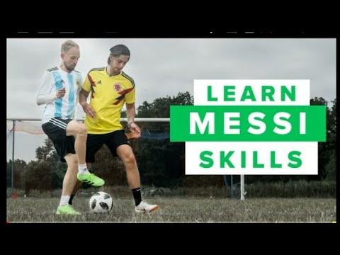 Learn five messi football skills