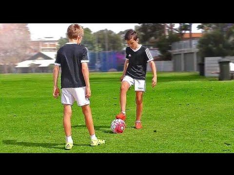 Top 4 easy football skill for kids | |beginner