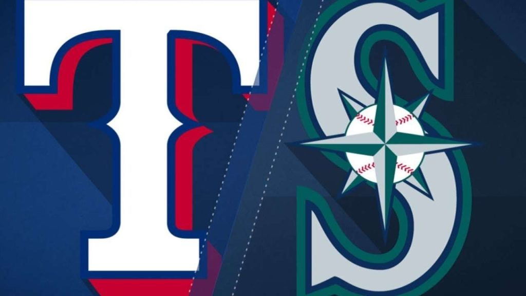 Texas Rangers @ Seattle Mariners Opening Weekend G3 (MLB The Show franchise mode)