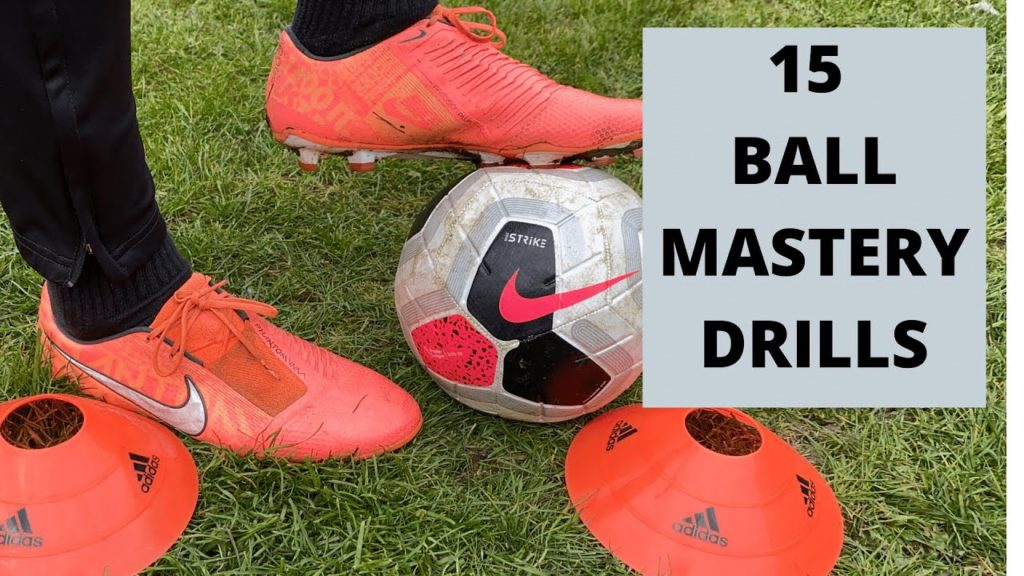 15 Ball Mastery Drills | Ball Control Exercises For Football Players