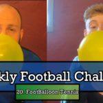 FootBalloon Tennis | Weekly Football Challenge