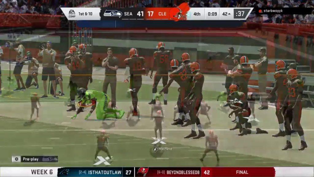 Week 6 Seahawks Browns