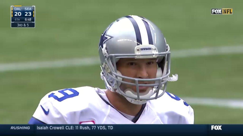 Cowboys vs Seahawks 2014 Week 6