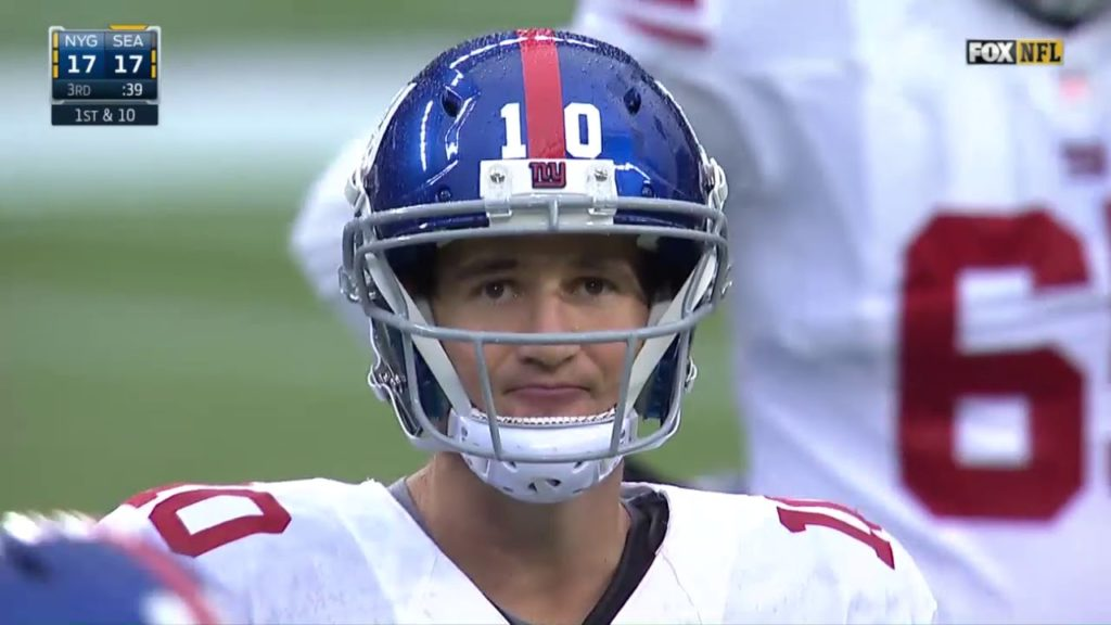 Giants vs Seahawks 2014 Week 10
