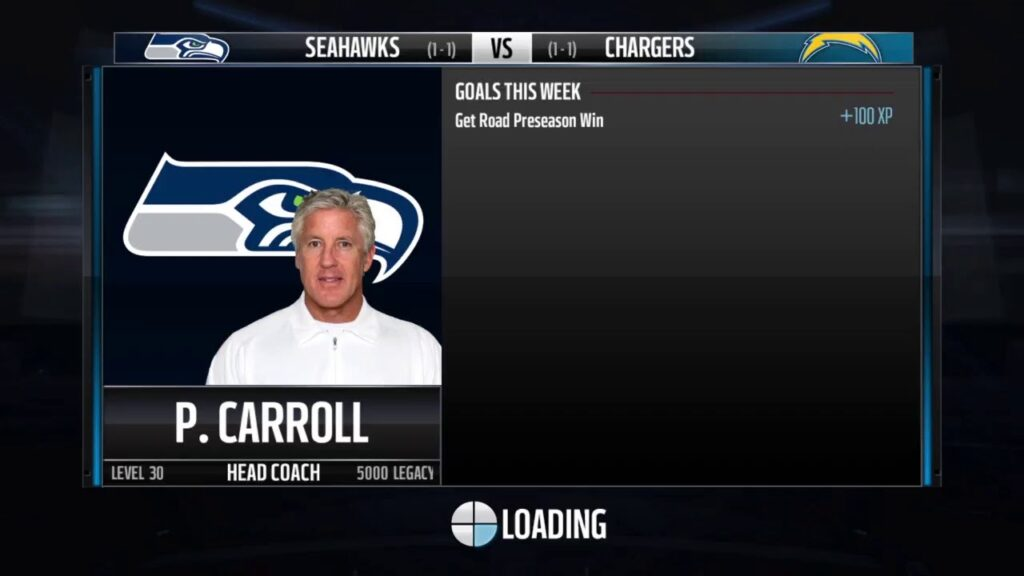 2015 Madden 16 Pre Season Seattle Seahawks vs San DIego Chargers Week 3 Gameplay