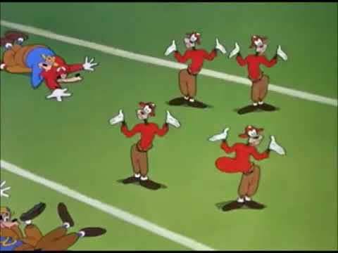 Walt Disney's Goofy – How to Play Football (1944) with 1943-1944 end title.