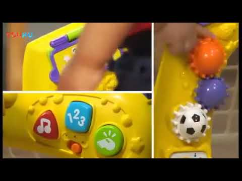 Big player toy rental VTech two-in-one football basketball rack early education fitness is correct