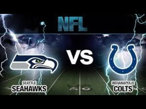 Seattle Seahawks vs. Indianapolis Colts Madden 20