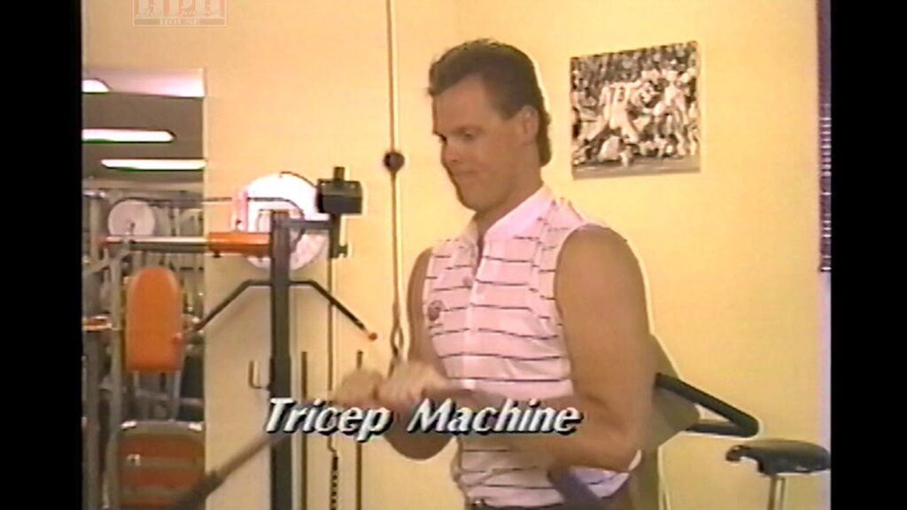 1988 VHS Tape – Football Fitness and Footwork Drills Jim MacMahon Chicago Bears – pretty funny