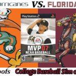 SG #CollegeBaseball: #Miami #Hurricanes vs. #FloridaState #Seminoles