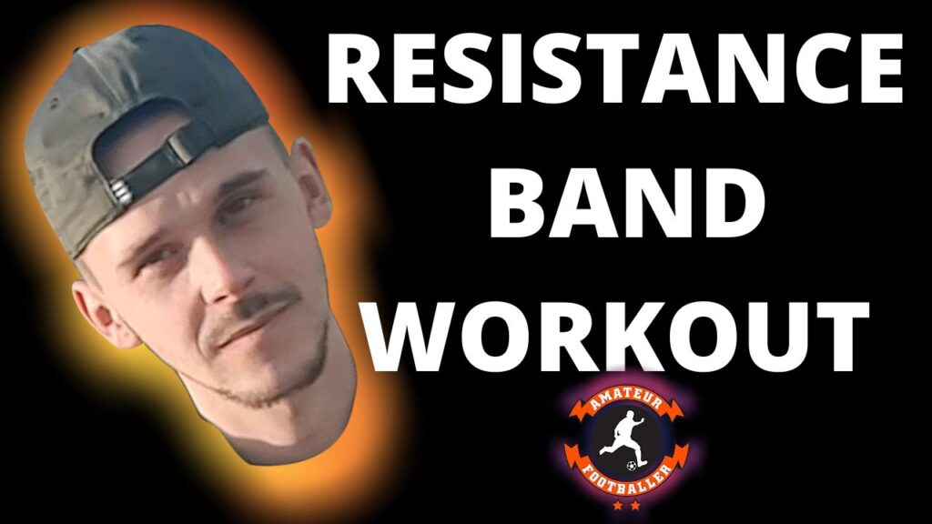 RESISTANCE BAND WORKOUT FOR FOOTBALL LEGS | THESE DRILLS DO WORK! |