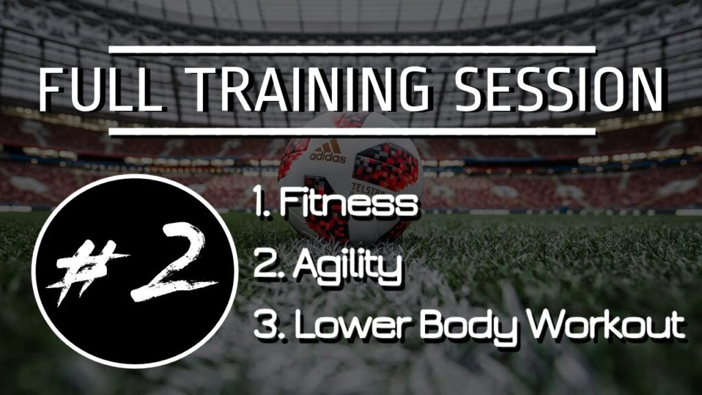 FULL FOOTBALL/SOCCER TRAINING SESSION | TRAIN WITH ME #2 | *FREE