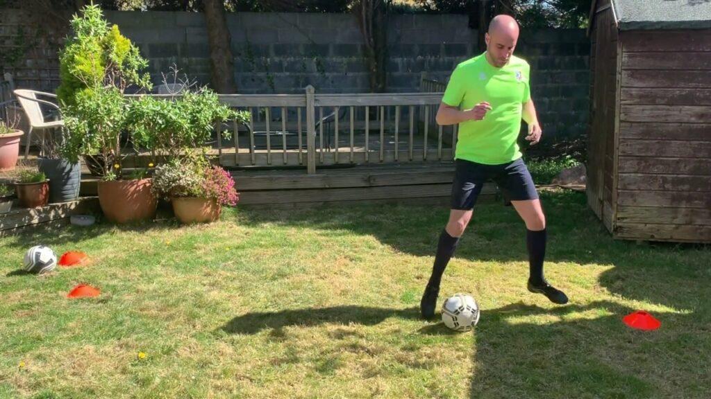 Football ball control exercises 2 | Total Football Training