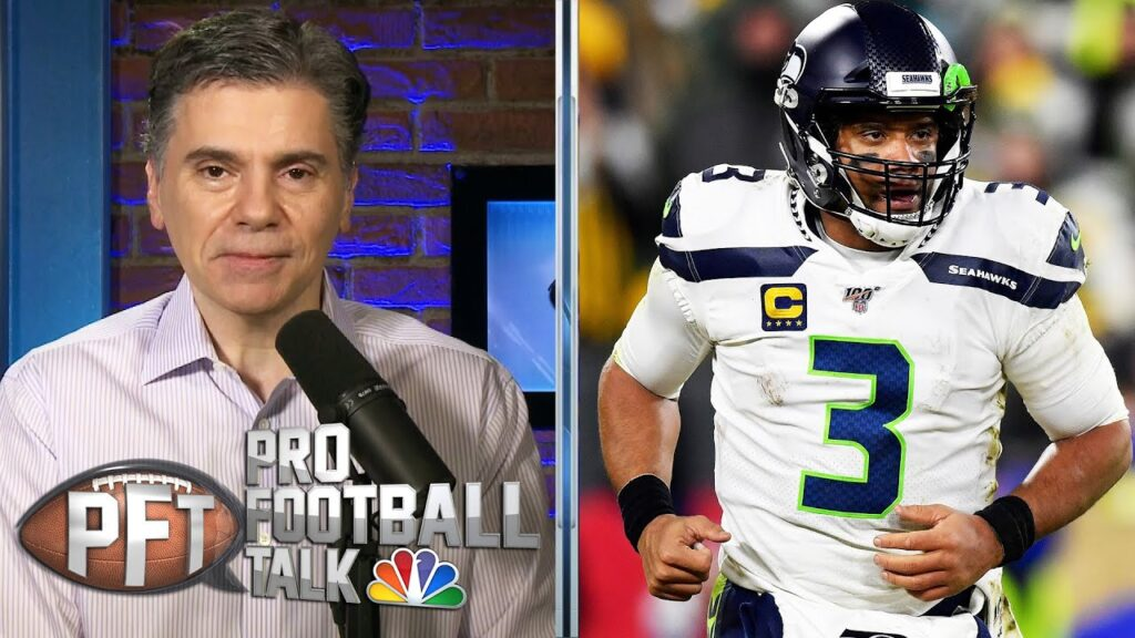 Seahawks' Russell Wilson clearly shaken by recent events | Pro Football Talk | NBC Sports