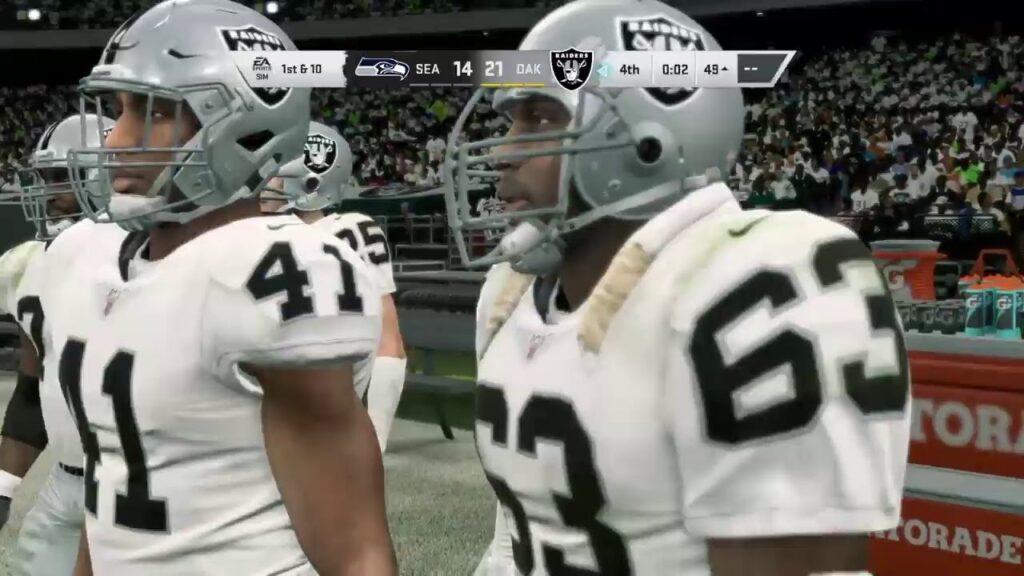Brock (Seahawks) vs. Brandon (Raiders)