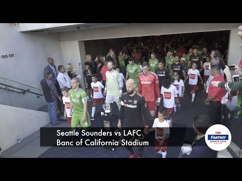 LAFC vs  Seattle Sounders 3252 Supporters Section