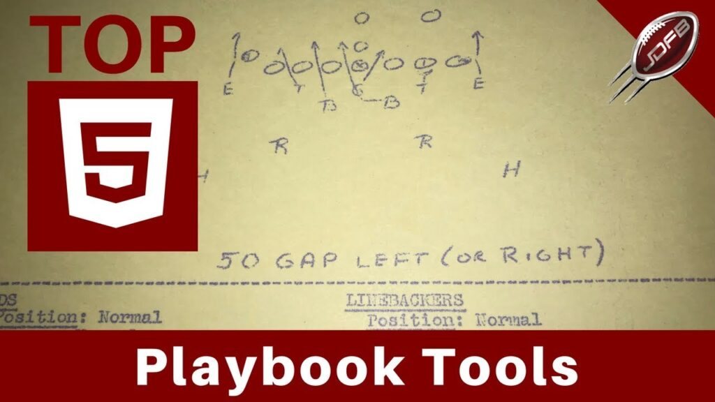 Top 5 Playbook Tools for Football Coaches | Joe Daniel Football