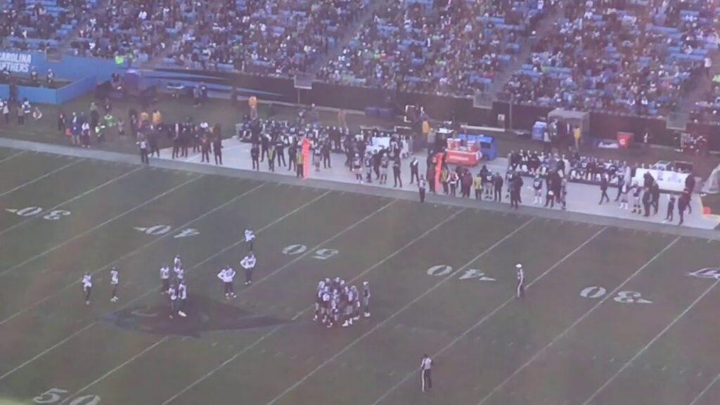 Panthers Vs Seahawks FootBall (2019)