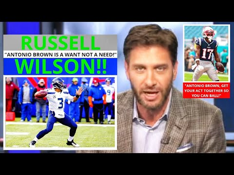 Russell Wilson (Seattle Seahawks) Antonio Brown Possible Seahawk? Get Up Mike Greenberg [Commentary]