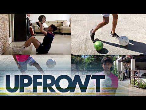 How to play like a football pro with Jarvey Gayoso and Inna Palacios | UPFRONT