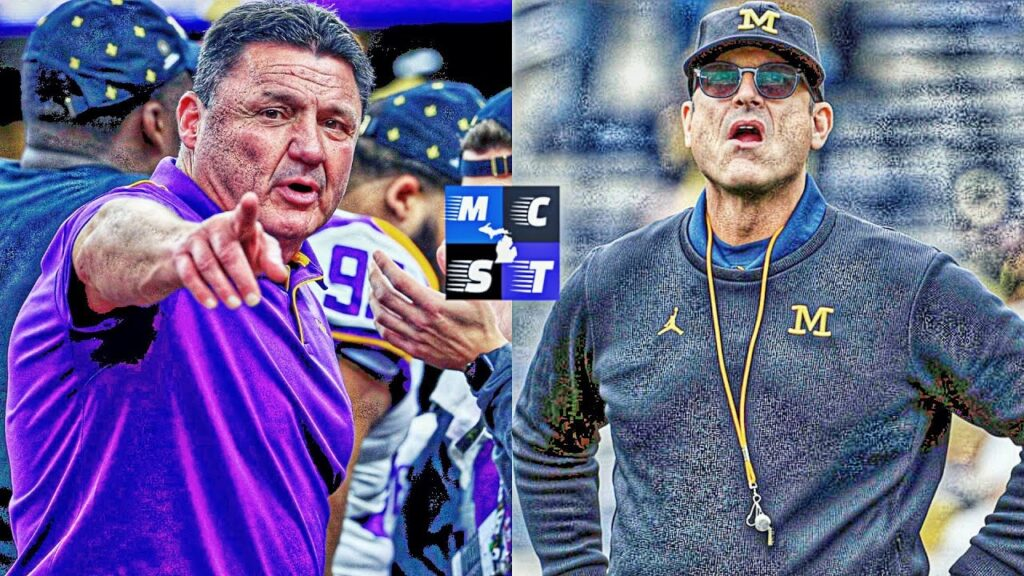 Michigan & LSU In Talks to Play Each Other in Football For The First Time in History!!!