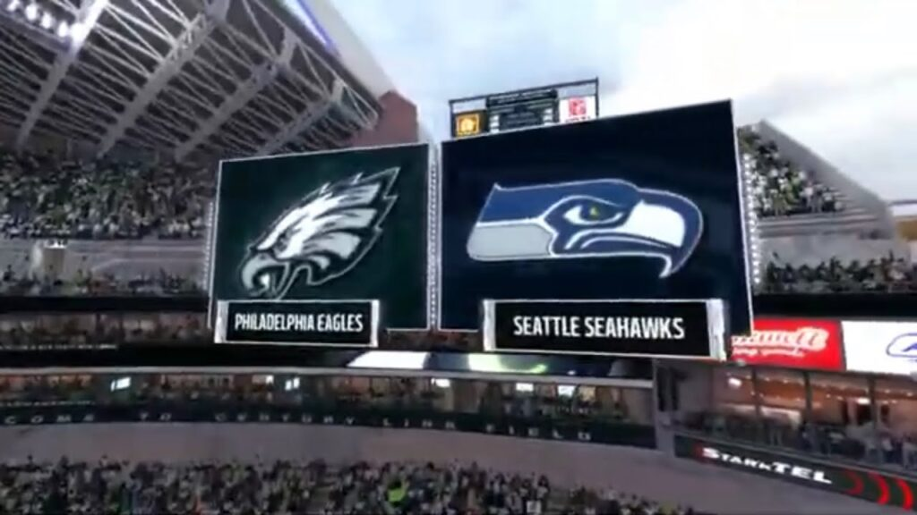 Madden 17 eagles vs seahawks week 11