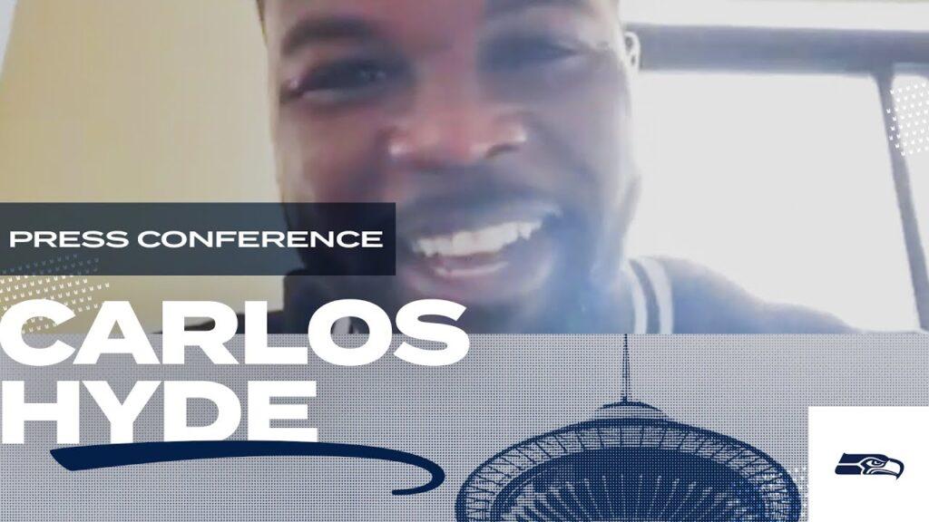 Carlos Hyde 2020 Offseason Press Conference