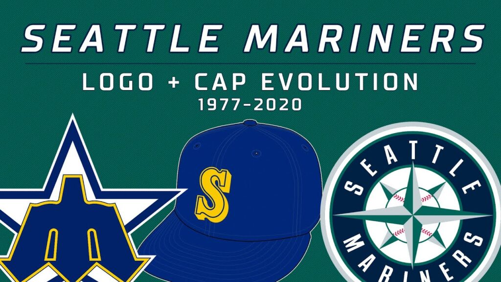 Seattle Mariners EVERY Logo and Cap: 1977-2020