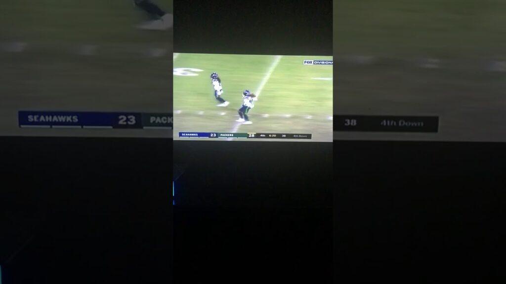 Seattle Seahawks Sacked Aaron Rodgers