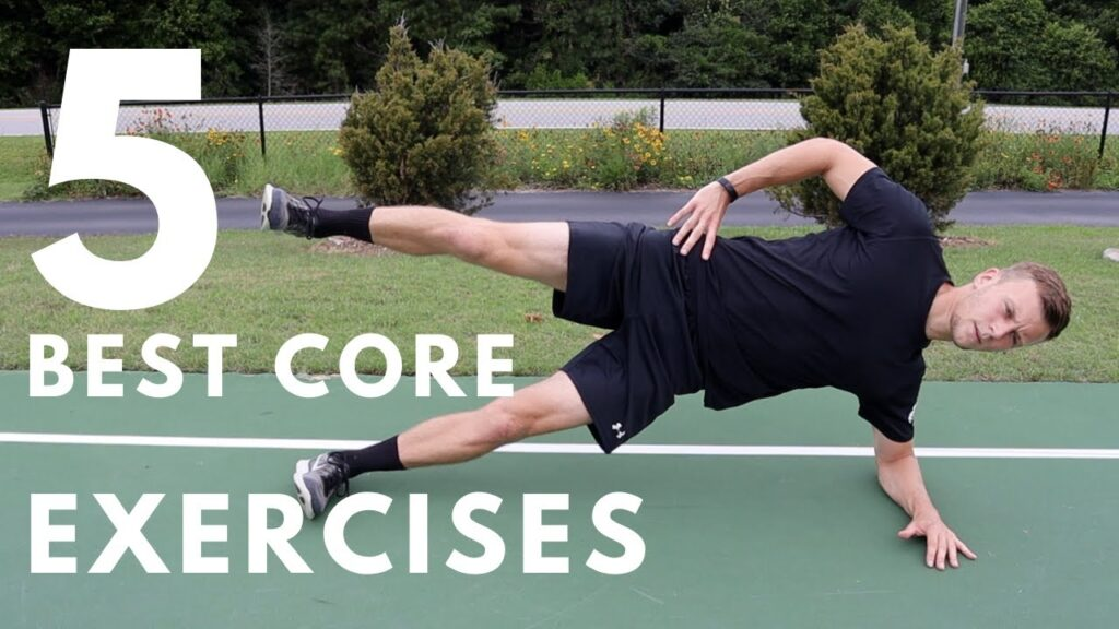 The 5 BEST CORE Exercises for Footballers