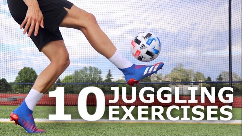 10 Easy Juggling Exercises To Improve Your Ball Control | Improve Your First Touch Without Equipment