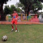 Basic Football : Agility leg Drill & Passing Drill