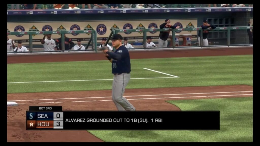 Astros vs. Mariners 5-9-20; MLB The Show 20