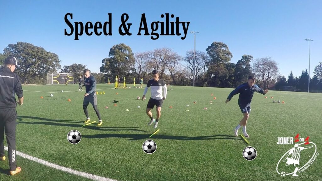 Full speed and agility drills with Pro players – Joner 1on1