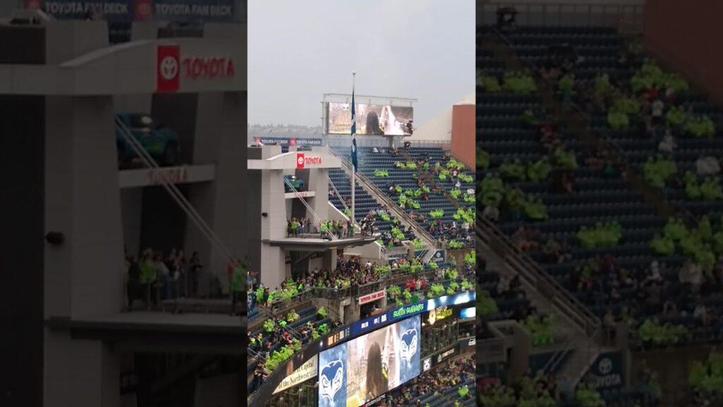 Seahawks vs. Raiders Preseason game Kickoff