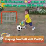 Watch: Playing football with Dad | Time spent with Family is worth every second