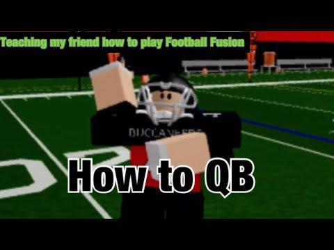 Teaching My Friend How To Play Football Fusion (Part 1)