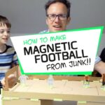 How to make a fab Football Game from card…Creative fun for kids with JUNKO kits!